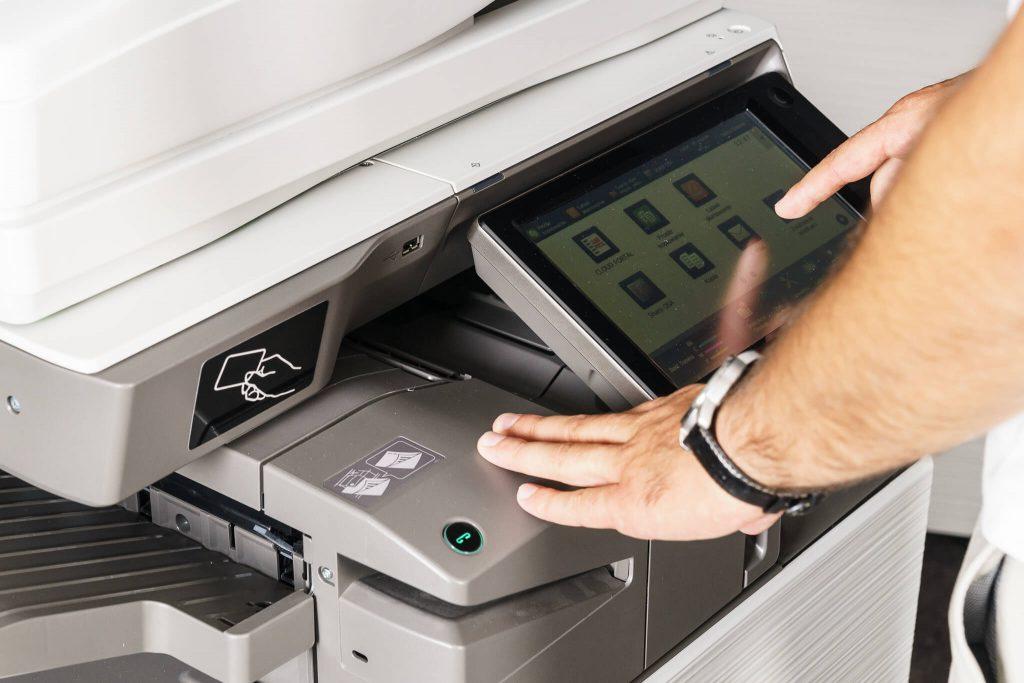 Rental Photocopier